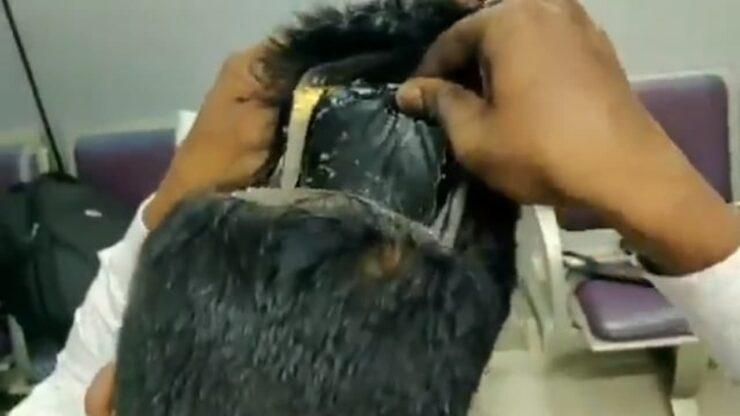 Bergaya Rambut Nyentrik, Pria Ini Ditangkap Karena Selundupkan Emas 680 Gram
