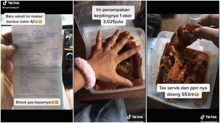 Hanya Makan Ikan Dan Kepiting, Suami Istri Ini Harus Bayar Rp 4 Juta, Padahal Sudah Diingatkan