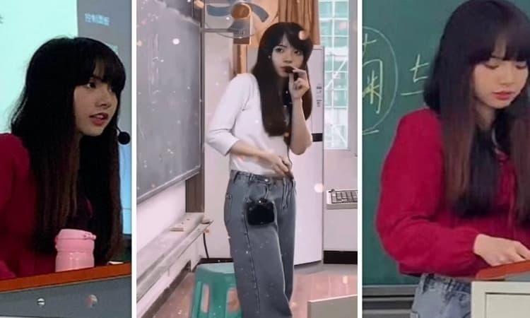 Kemiripan Wajah Dosen Di China Dengan Lisa Blackpink