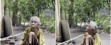 Kisah Haru Nenek Di Kediri Yang Dibuang Oleh Keluarganya Karena Sudah Terlalu Tua