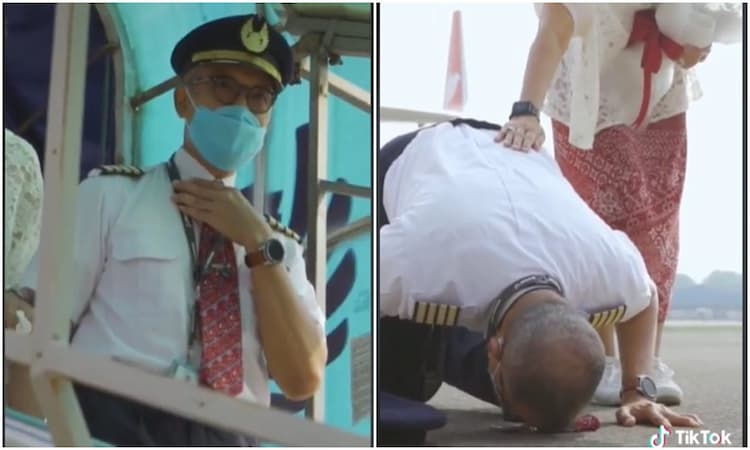 Momen Haru Purnabakti Pilot