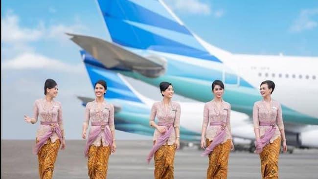 Potret Pramugari Garuda Indonesia