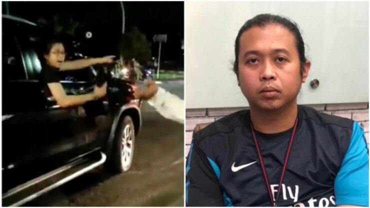 Sosok Pria Pengacung Pistol Di Jakarta Timur Divonis Tersangka, Bos Dari Startup Restock