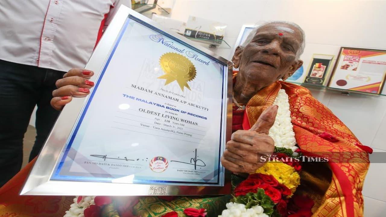 Wanita Tertua Di Malaysia Berusia 110 Tahun Ini Ungkap Rahasia Umur Panjangnya