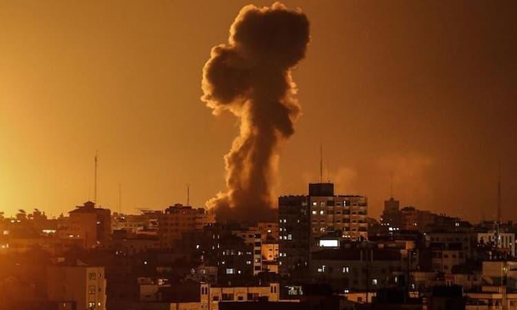Agresi Israel Di Jalur Gaza