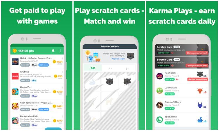Aplikasi Appkarma Rewards Gift Cards