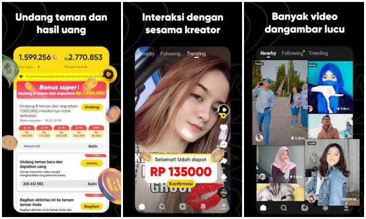 Aplikasi Penghasil Uang Snack Video 1