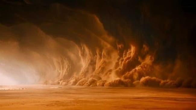 Badai Debu Di Mars