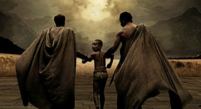 Latihan Keras Sparta
