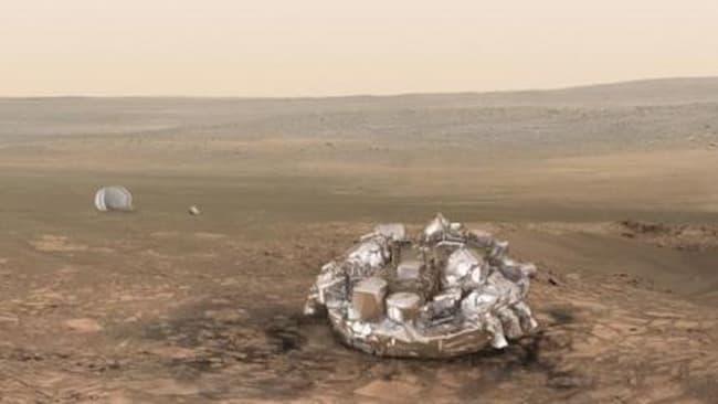 Mendarat Di Mars