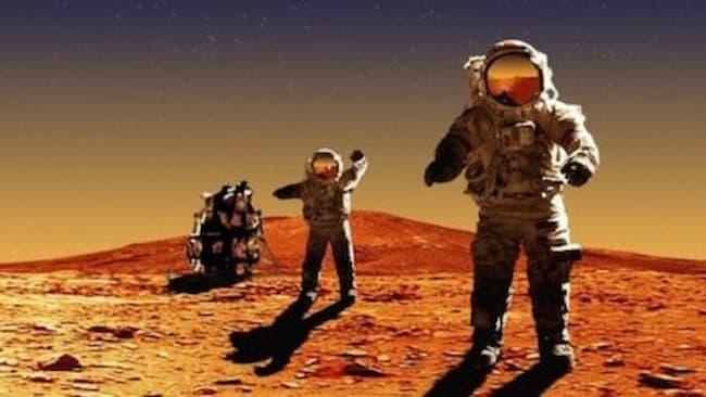Mendarat Di Planet Mars