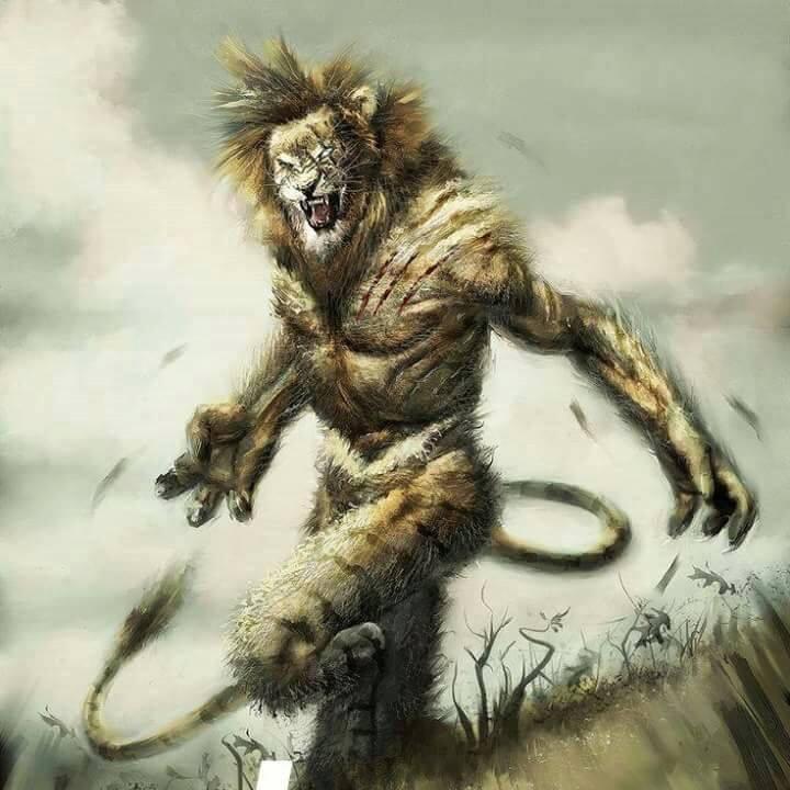 Ilustrasi Cindaku makhluk mitologi indonesia