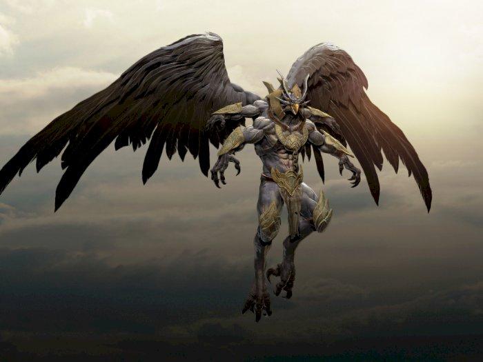 Ilustrasi Garuda